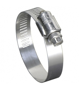 Pipe Clamp 16mm - 27mm Stainless Steel !