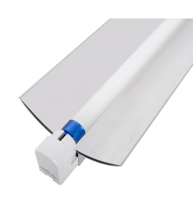 T5 Single Strip Light Fixture with reflector 4'