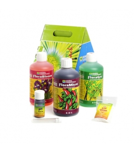 General Hydroponics 0.5L Tri Pack Hard Water