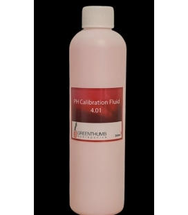 Lab grade pH 4.01 Calibration Fluid 250ml
