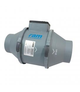 """RAM Mixed-Flow Inline fan 100mm (4"""")"""