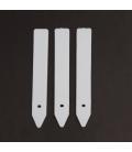 Pot Labels - white - 13mm x 100mm