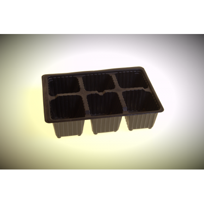 Seed Tray 6 Pot/60mm