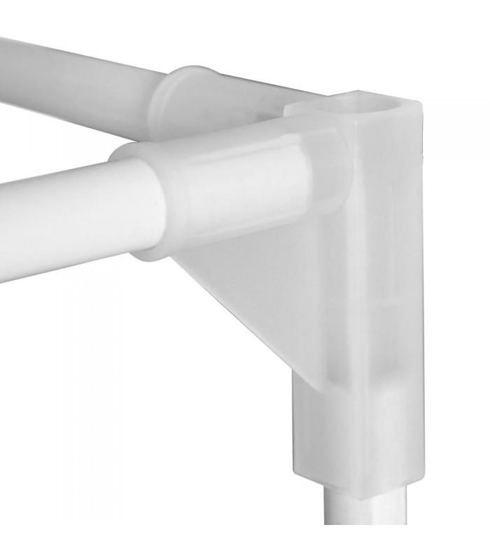 Pvc Corner Connectors : Plastic tent corner greenthumb hydroponics