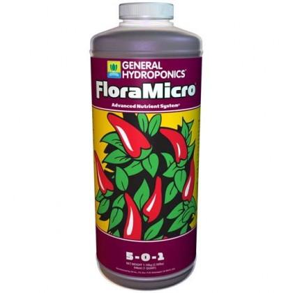 Hydroponics FloraMicro 1L (Hardwater)